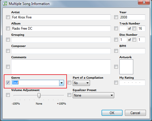 how to change song type as ringtone in itunes